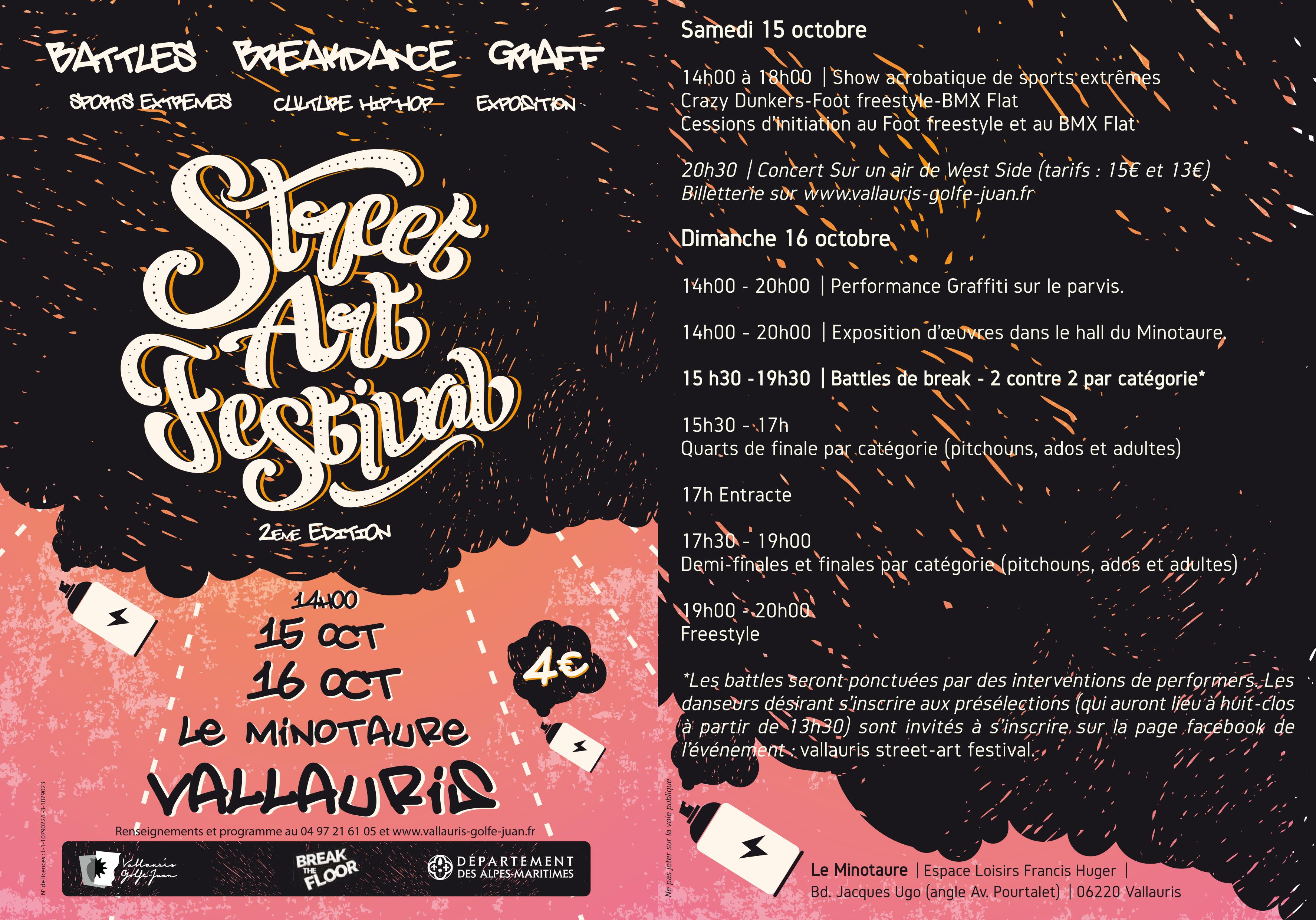2 me festival street art site officiel de la ville de. Black Bedroom Furniture Sets. Home Design Ideas